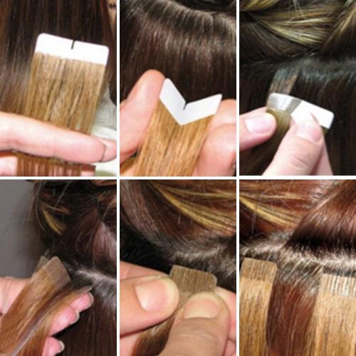 Волосы насадить на ленты возможно? - Наращивание волос - Я 64